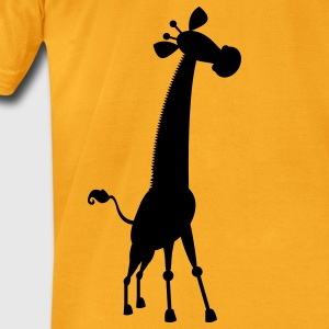 giraffe cute shape Bags  - Men's T-Shirt by American Apparel