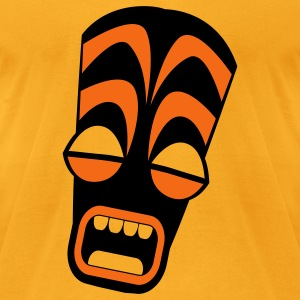freaky tiki upright stretched in horror! Bags  - Men's T-Shirt by American Apparel