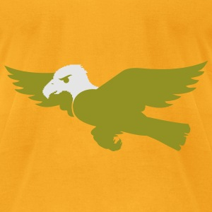 bald eagle flying Bags  - Men's T-Shirt by American Apparel