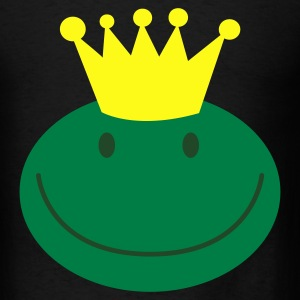 frog prince froggy face with a smile Bags  - Men's T-Shirt