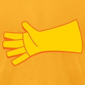 two color glove  Bags  - Men's T-Shirt by American Apparel