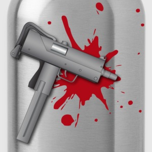 Mac 10 ( HD Pixel Design ) - Water Bottle