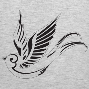 Sparrow ( HD Pixel Design ) - Men's Premium Tank