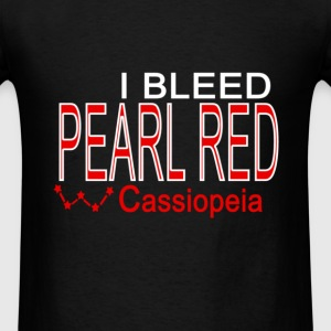 I bleed pear red Hoodies - Men's T-Shirt