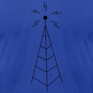 Antenna Hoodies - Men's T-Shirt by American Apparel