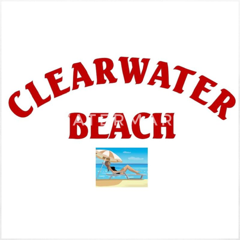 Clearwater Beach Shirt - Women's Long Sleeve Jersey T-Shirt