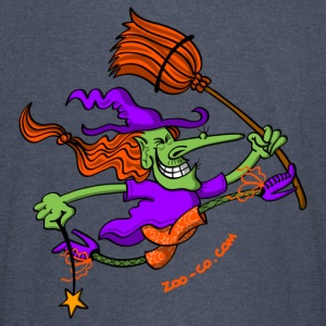 Crazy Witch Jumping Hoodies - Vintage Sport T-Shirt