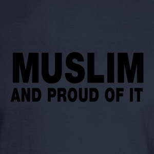 MUSLIM and proud of it - Men's Long Sleeve T-Shirt