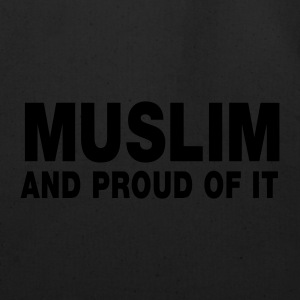 MUSLIM and proud of it - Eco-Friendly Cotton Tote
