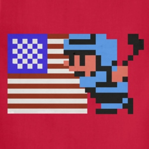 NES Ice Hockey: USA! USA! - Adjustable Apron
