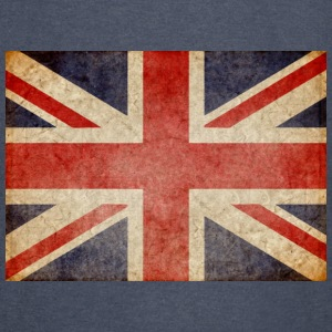 Faded UK Flag Hoodies - Vintage Sport T-Shirt