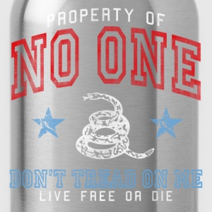 Property of No One - dk Kids' Shirts - Water Bottle