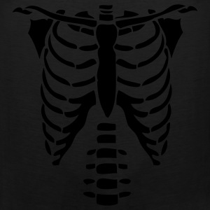 Skeleton Torso Halloween Costume Hoodie - Men's Premium Tank