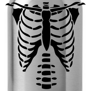 Skeleton Torso Halloween Costume Longsleeve Sweatshirt - Water Bottle