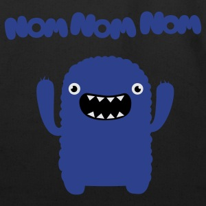 Om nom nom nom T-Shirts - Eco-Friendly Cotton Tote