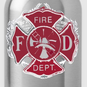 FireFighters Prayer - Water Bottle