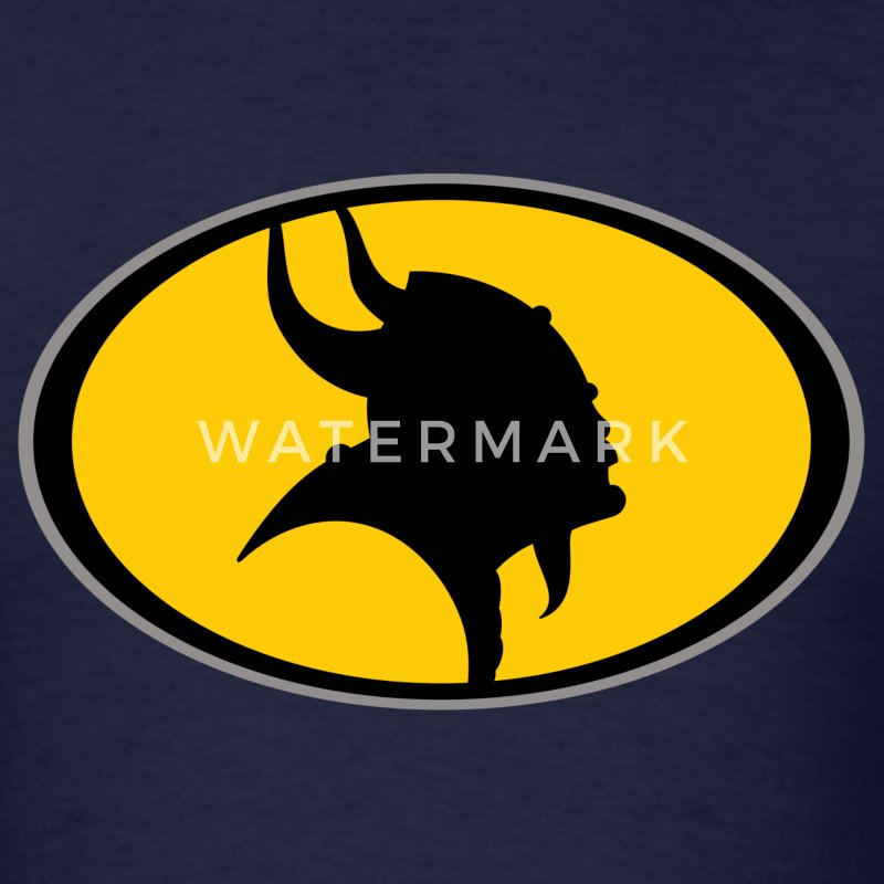 Bat Viking Man - Men's T-Shirt