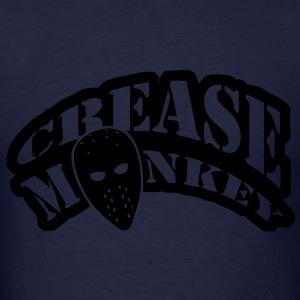 Crease Monkey hockey design Hoodies - Men's T-Shirt