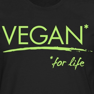 VEGAN for life - vector Women's T-Shirts - Men's Premium Long Sleeve T-Shirt