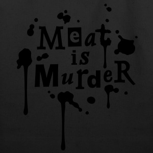 Meat is Murder! - vector T-Shirts - Eco-Friendly Cotton Tote