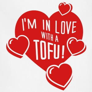 I'm In Love With a Tofu! - vector T-Shirts - Adjustable Apron