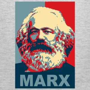 Karl Marx Obama Style Long Sleeve Shirts - Men's Premium Tank