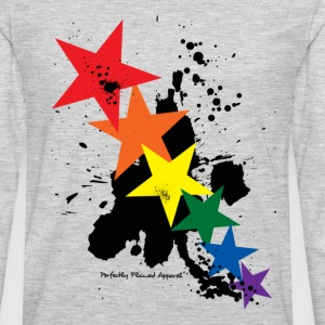 Rainbow Stars - Men's Premium Long Sleeve T-Shirt