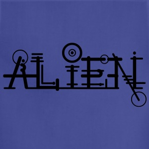 Alien Font ART Hoodies - Adjustable Apron