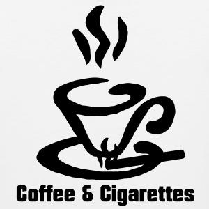 Coffee and Cigarettes  Hoodies - Men's Premium Tank