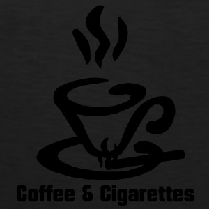 Coffee and Cigarettes  Women's T-Shirts - Men's Premium Tank