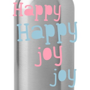 happy happy joy joy Long Sleeve Shirts - Water Bottle