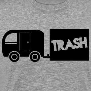 trailer trash towing cargo  Long Sleeve Shirts - Men's Premium T-Shirt