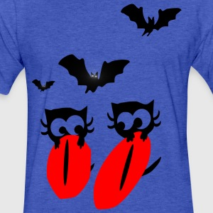 halloween horror animals bat animation vector art Kid's Hooded Sweatshirt - Fitted Cotton/Poly T-Shirt by Next Level