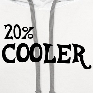 Brony 20% Cooler _v2 T-Shirts - Contrast Hoodie