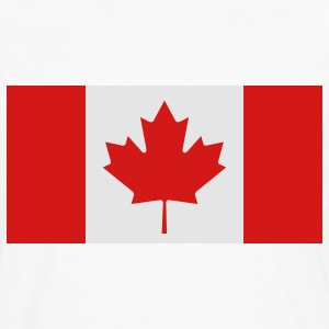 Flag Canada (2c)++ Polo Shirts - Men's Premium Long Sleeve T-Shirt