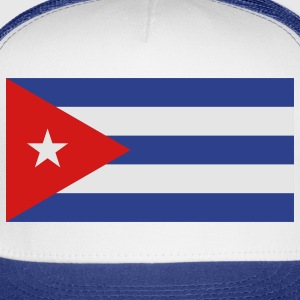 Flag Cuba (3c)++ Long Sleeve Shirts - Trucker Cap