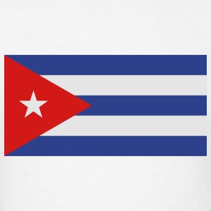 Flag Cuba (3c)++ Long Sleeve Shirts - Men's T-Shirt