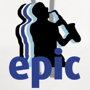 Epic Sax Guy Kids' Shirts - Contrast Hoodie