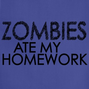 Zombies Ate My Homework Kids' Shirts - Adjustable Apron
