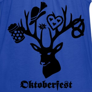 t-shirt oktoberfest bavaria munich germany stag party beer pretzel T-Shirts - Women's Flowy Tank Top by Bella