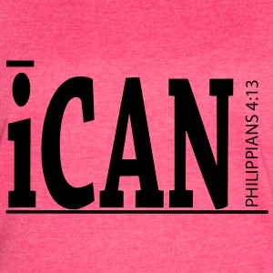 iCan Pink Tank - Women's Vintage Sport T-Shirt