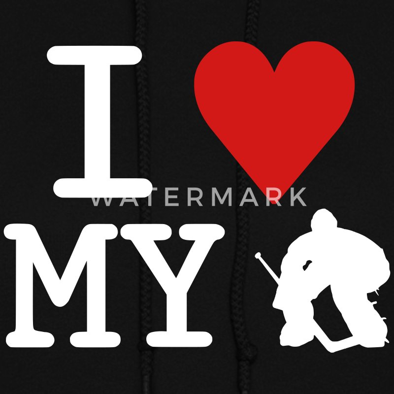I Love My Goalie (hockey) Hoodies - Women's Hoodie
