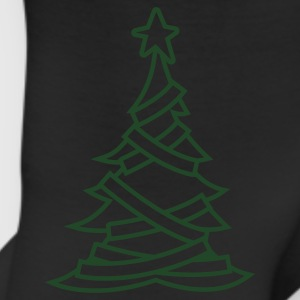 SIMPLE adorned CHRISTMAS tree with a north star Women's T-Shirts - Leggings
