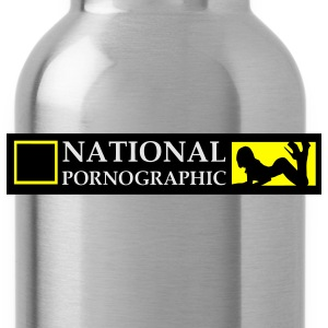 National Pornographic Hoodies - Water Bottle