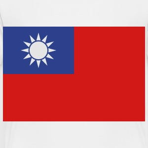 Flag Taiwan (3c)++ Kids' Shirts - Toddler Premium T-Shirt