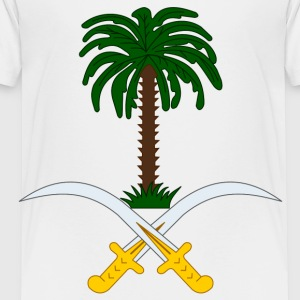 Crest Saudi Arabia (dd)++ Kids' Shirts - Toddler Premium T-Shirt