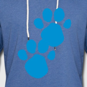 Blues Clues (Dog Pawprint) T-Shirts - Unisex Lightweight Terry Hoodie