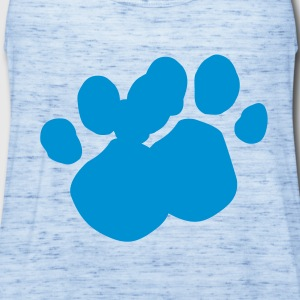 Blues Clues (Dog Pawprint) T-Shirts - Women's Flowy Tank Top by Bella
