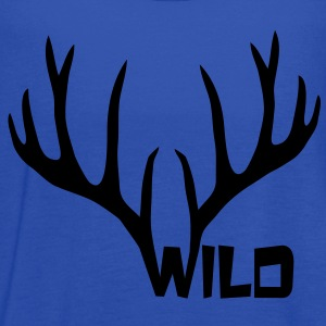 wild stag deer moose elk antler antlers horn horns cervine hart bachelor party night hunter hunting Women's T-Shirts - Women's Flowy Tank Top by Bella