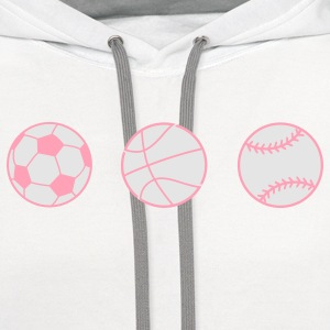 Baby Sports Fan Kids' Shirts - Contrast Hoodie